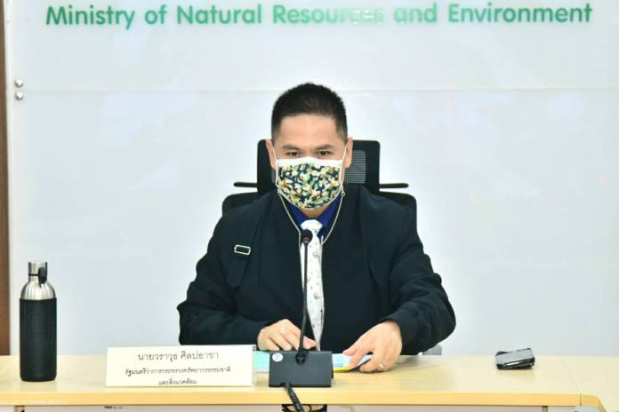 Thai Minister Warawut Silpa-archa