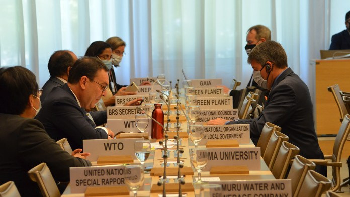 WTO plastic conference