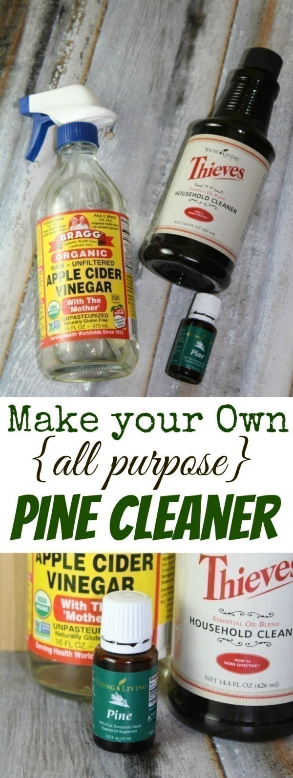 Homemade Pine Cleaner Rebooted Mom