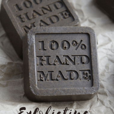 Simple Exfoliating Coffee Soap