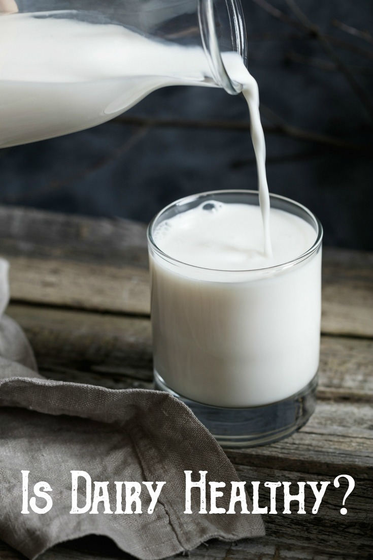 Is Dairy Healthy? The issue of milk and dairy are both well debated –  with some people swearing off dairy for good.  Find out what makes raw dairy such a wonderful health option, and why it should be the only type of dairy you consume.   #rawmilk #dairy #health #wellness #fullfat