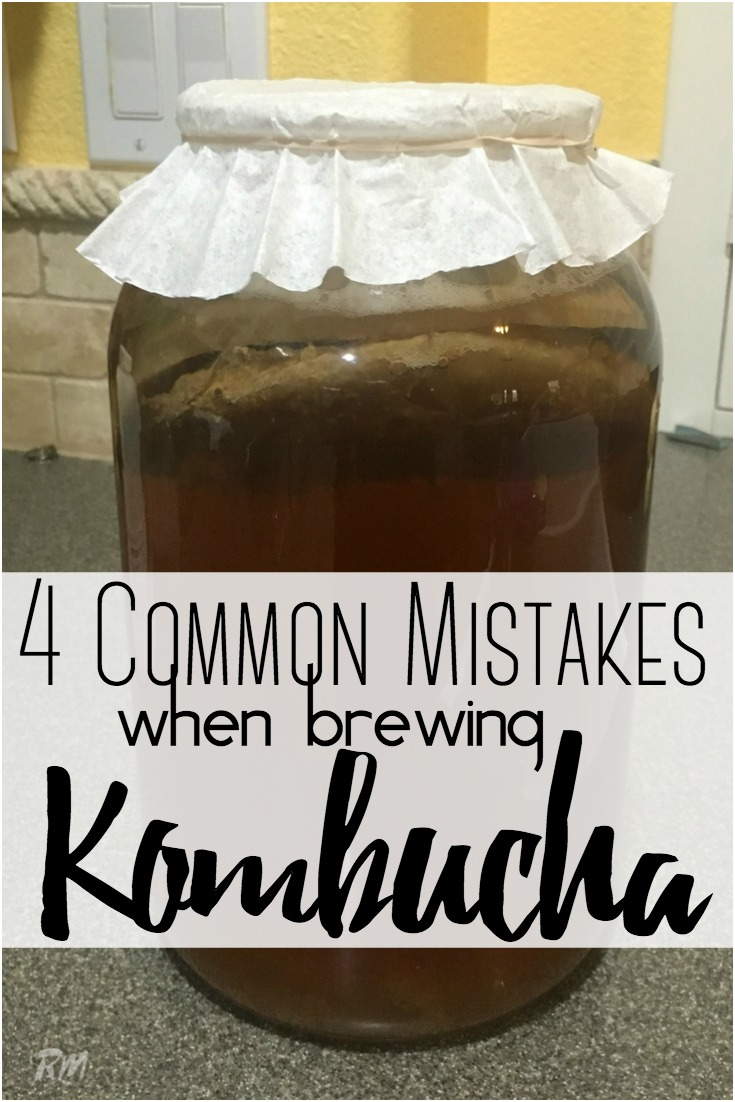 How to Grow a Kombucha SCOBY from Scratch - Rebooted Mom