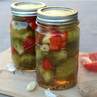 Easy Pickled Brussels Sprouts