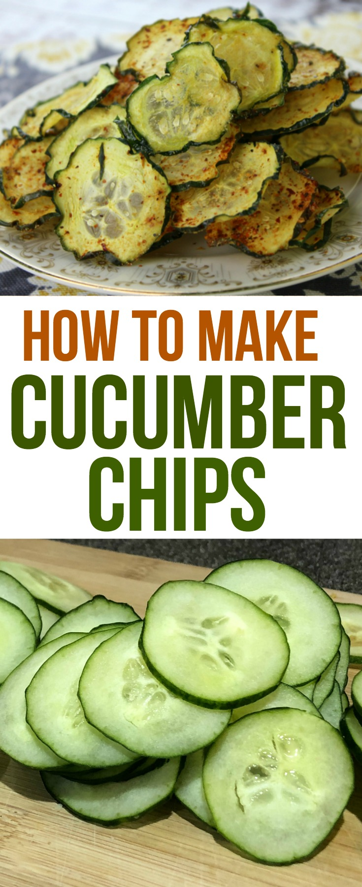 Cucumber Chips are easy to make and are delicious and healthy at the same time. They are the perfect snack for kids and adults.