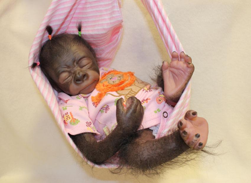 reborn baby monkeys to