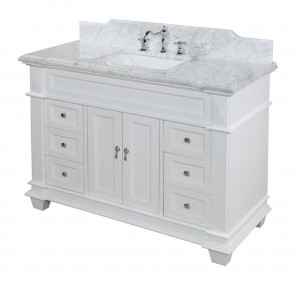 "48"" white bathroom vanity a detailed review"
