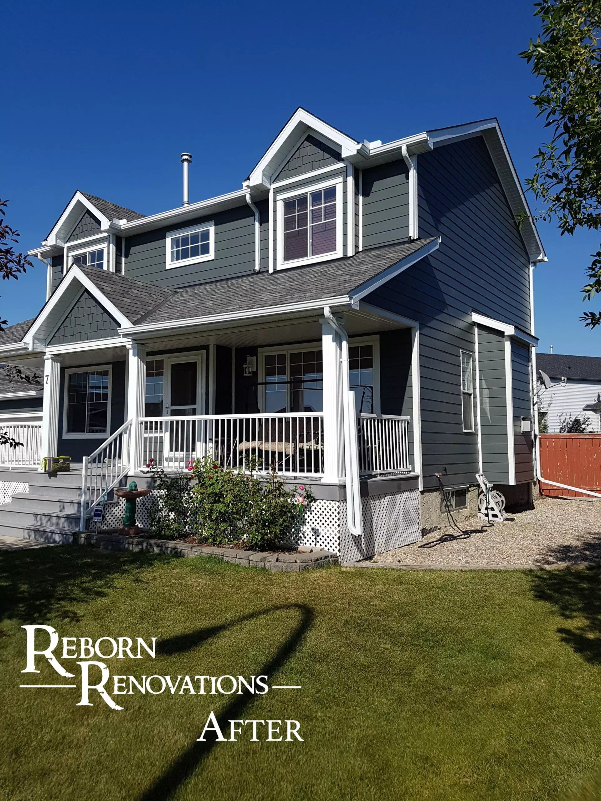 Exterior Home Renovations in Calgary   Reborn Renovations