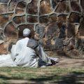 A man in meditation