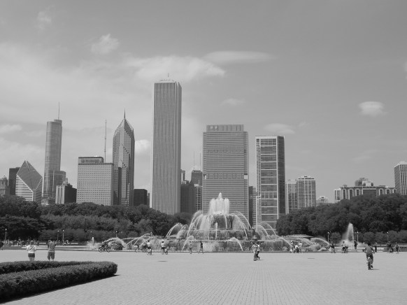 Buckingham fountain Grant Park