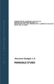 Ekamant Budget Help