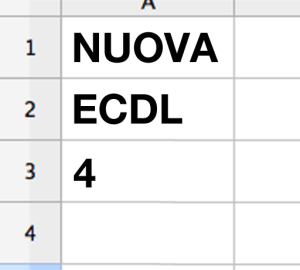Nuova ECDL 4 - Spreadsheets - Lamberto Salucco