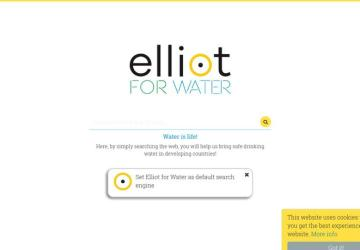 ELLIOT FOR WATER a Radio 105 di Rosetta Savelli - Pareri e Pensieri