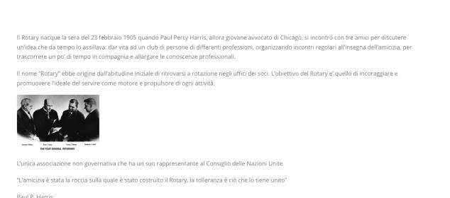 Online il sito del Rotary Club Sesto Calenzano - Rebus Multimedia - Lamberto Salucco