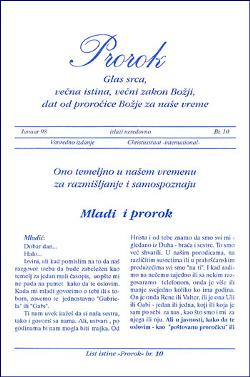 Čitajte brošuru - Prorok br. 10 - Mladić i prorok