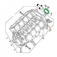 Retén origen salida cigüeñal Land Rover motor V8 ERR2640