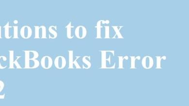 Photo of Solutions to fix QuickBooks Error 1712