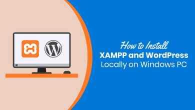 Photo of How to Install WordPress Locally Using XAMPP