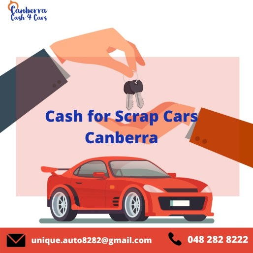 scrap car removal canberra