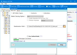 Import Zimbra to Outlook