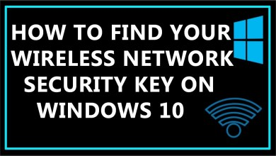 Photo of How to Find Network Security Key