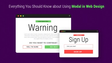 Photo of Everything You Should Know about Using Modal in Web Design