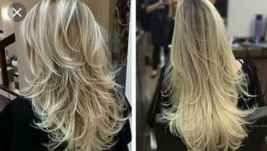 Photo of Are long layered hair good for medium-length fine hair?