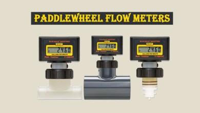 Photo of Paddle Wheel Type Flow Meters and Flow Sensors
