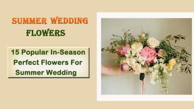 Photo of 15 Popular In-Season Perfect Flowers For  Summer Wedding