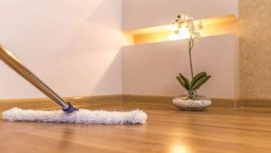 Photo of Vinyl flooring: Cleaning and Care