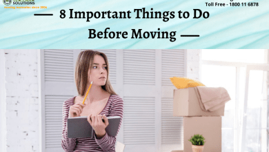 Photo of 8 Important Things to Do Before Moving