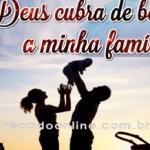 Deus abençoe a família!