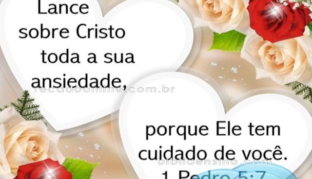 Cristo tem cuidado de você!