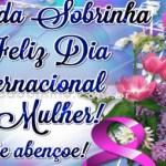 Sobrinha, Feliz Dia da Mulher!
