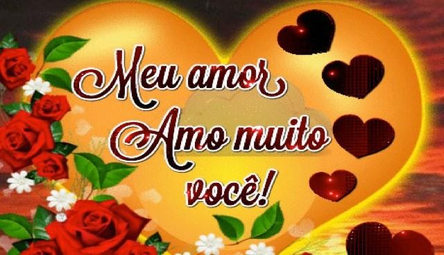 Amo muito você!