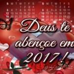 Deus te abençoe em 2017!