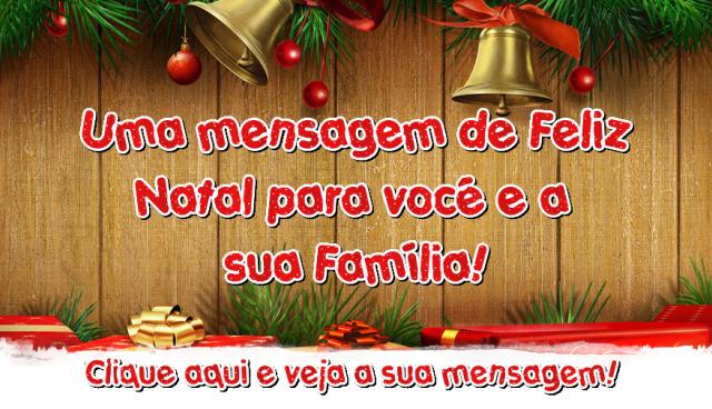 Mensagem de Natal para Você!