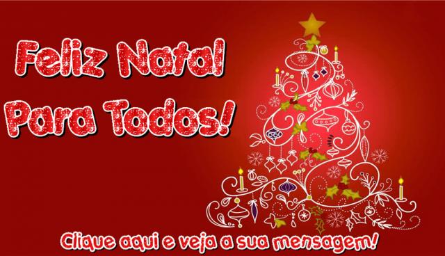 Feliz Natal Para Todos!
