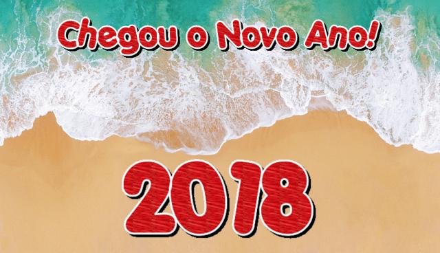 Chegou o Novo Ano 2018!