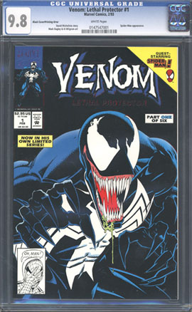 Error Comics  Venom Lethal Protector 1 Error Edition