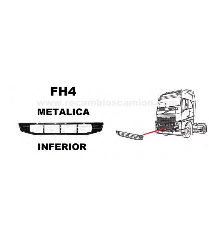 volvo 82255346 rejilla calandra frontal piezas camion