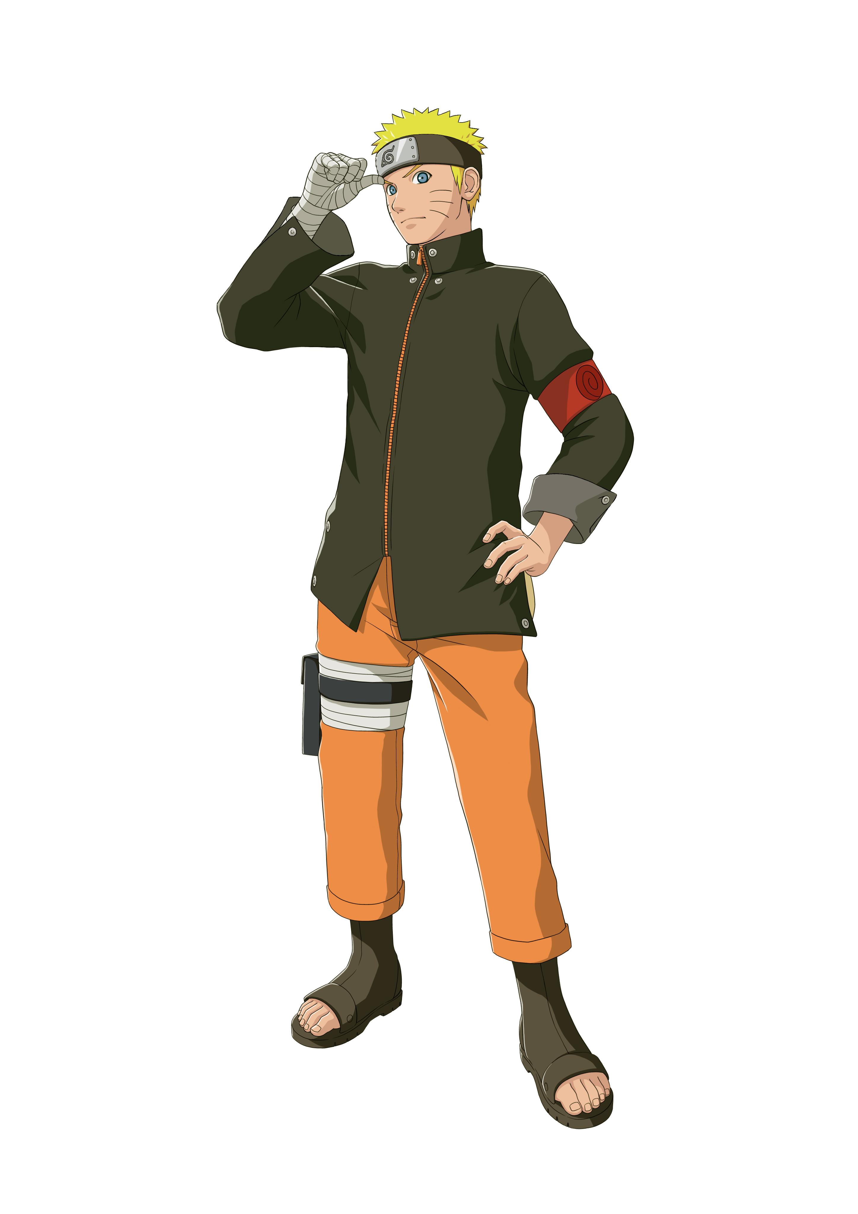 Artworks Dos Personagens Do Filme The Last Naruto No Jogo