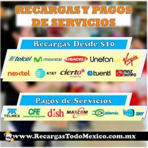 imagen de pagos de servicios y recargas
