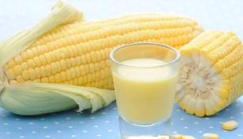 Receita de Suco de Milho Caseiro