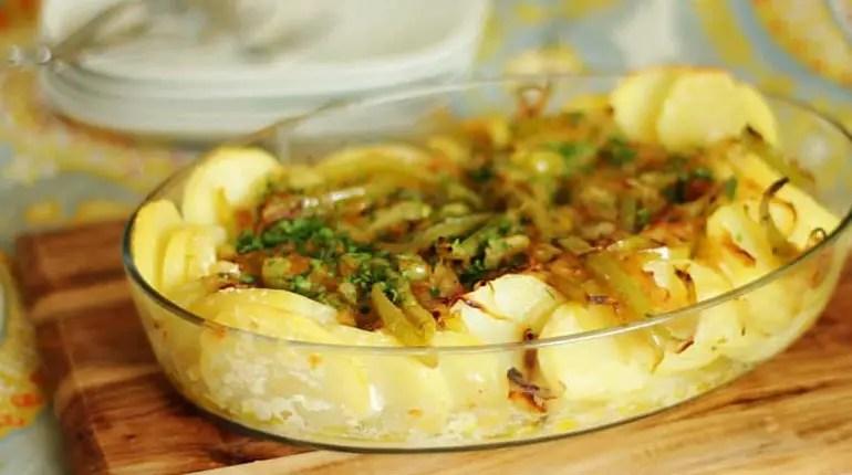 Como fazer bacalhau com batatas
