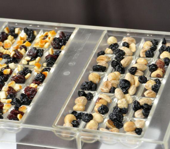 Frutas secas e aciduladas
