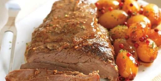 carne assada - Receitas da Tia Céu