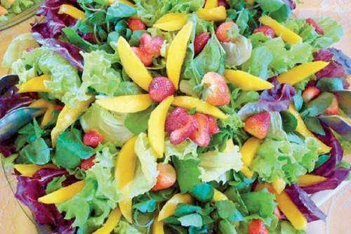Receita de Salada de Frutas e Verduras  Receitas de Comidas