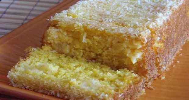 Receita de Bolo de coco e abacaxi - Torta Merengada de Abacaxi