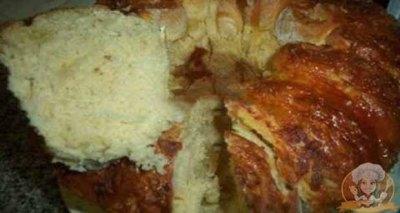 Receita de Pão flor de queijo - Receita de Pão flor de queijo