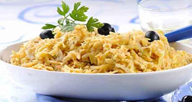 Receita de Arroz de forno com bacalhau - Bruschetta de Tomate com Queijo Gruyère e Manjericão